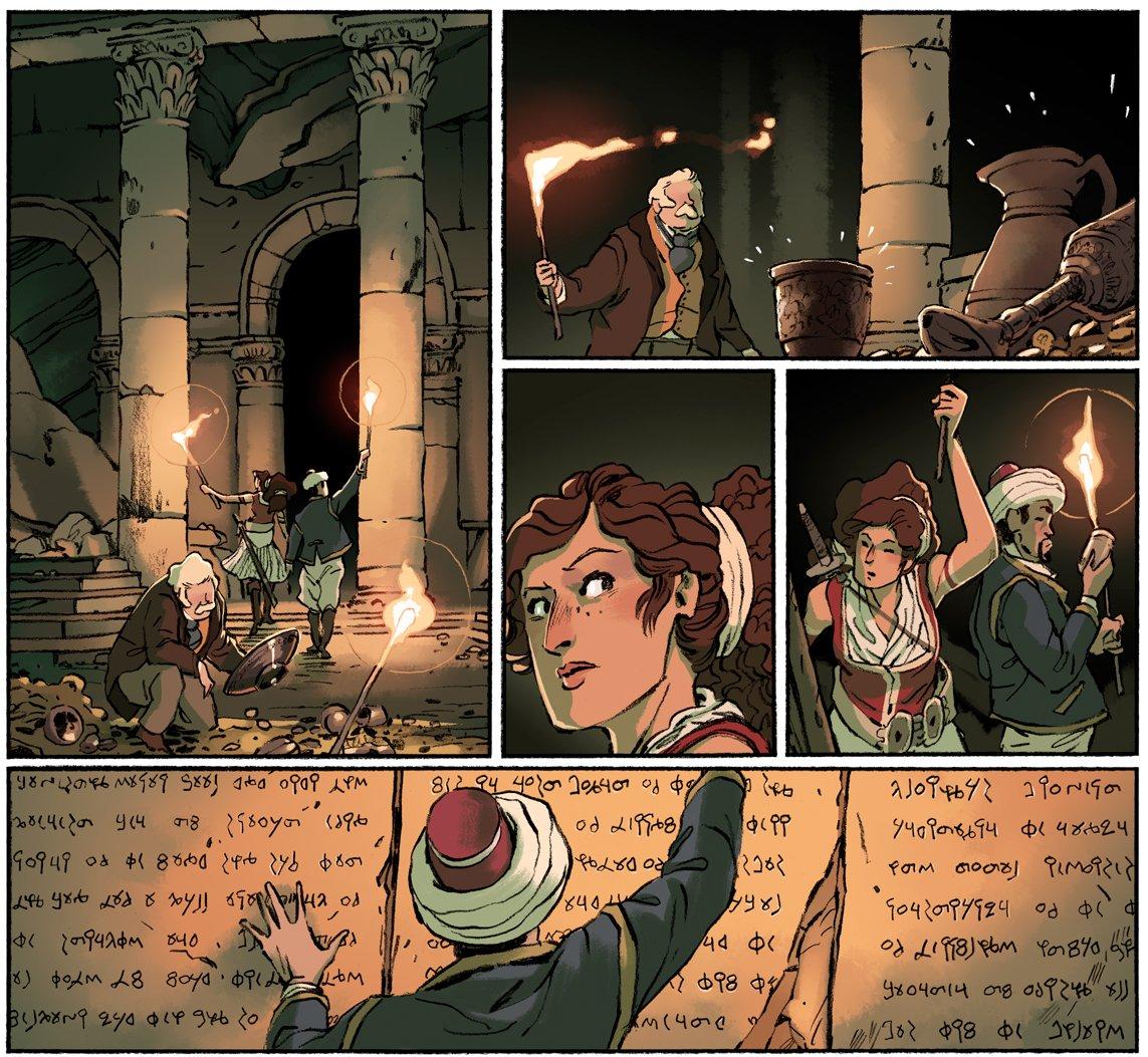 BD DELILAH DIRK AND THE PILLARS OF HERCULE