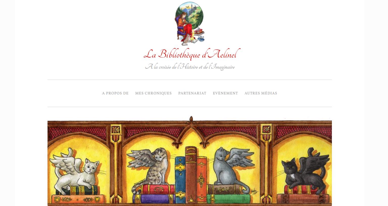 la biliotheque d'aelinel blog littérature