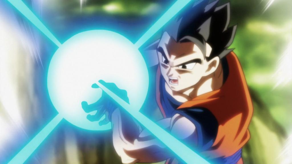 Goku Kaméhaméha dragon ball super
