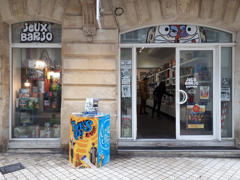 boutique de jeu de société jeu Barjo