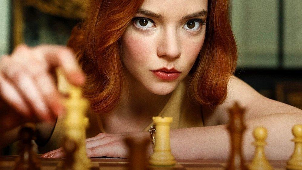le jeu de la dame série netflix jeu d'échecs